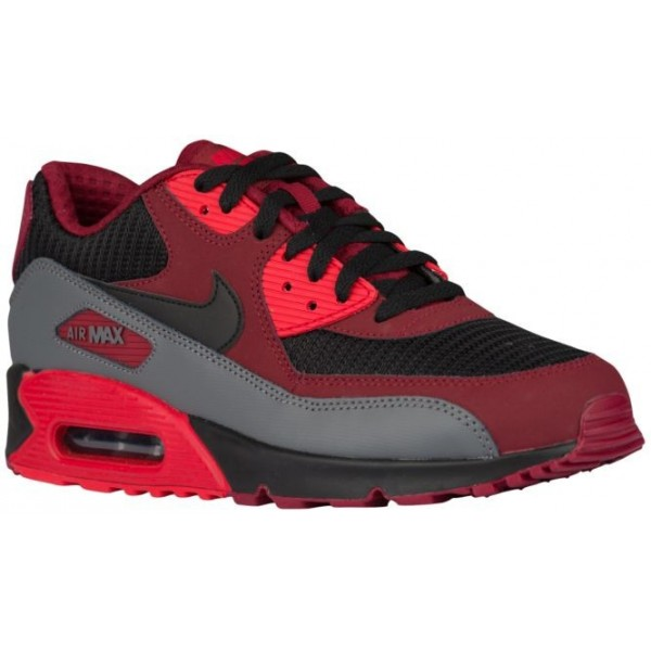 Nike Air Max 90 Essential Hommes chaussures rouge/...