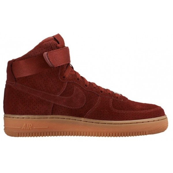 Nike Air Force 1 High Suede Femmes baskets marron/...