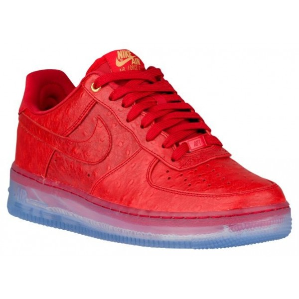 Nike Air Force 1 Comfort Hommes chaussures rouge/b...