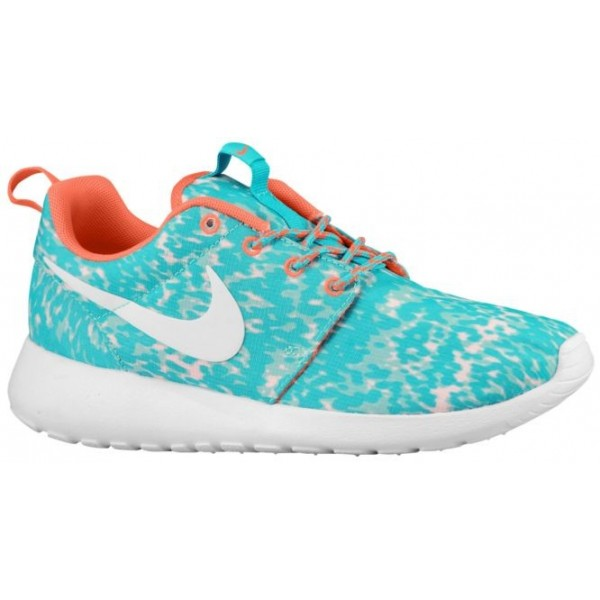 Nike Roshe One Femmes baskets vert clair/Orange EW...