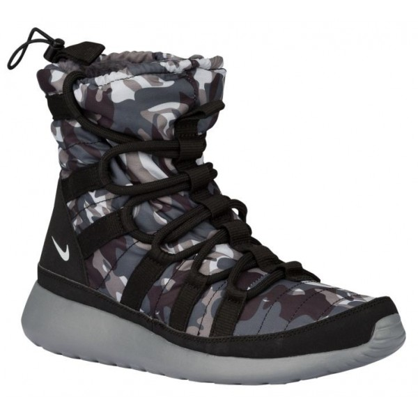 Nike Roshe One Hi Print Winterized Sneakerboot Fem...