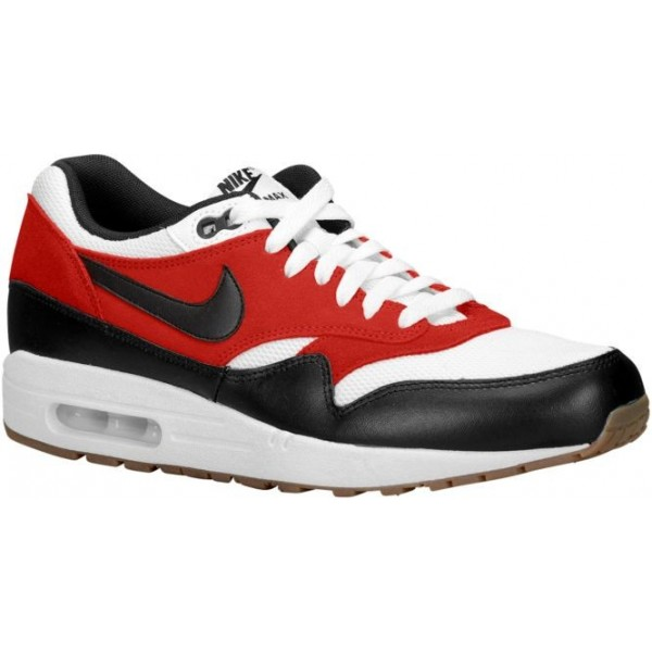 Nike Air Max 1 Essential Hommes sneakers blanc/noi...