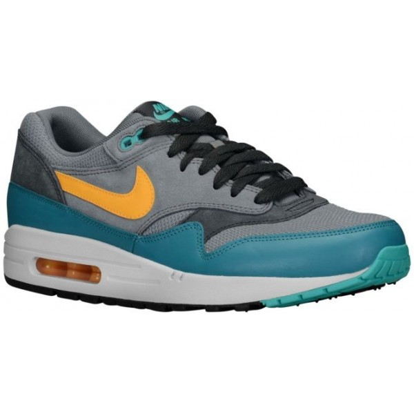 Nike Air Max 1 Essential Hommes chaussures gris/ve...