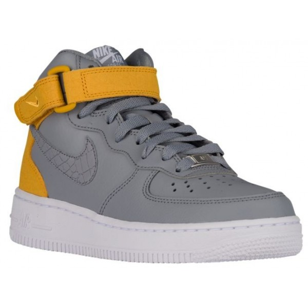 Nike Air Force 1 '07 Mid Femmes baskets gris/or IB...