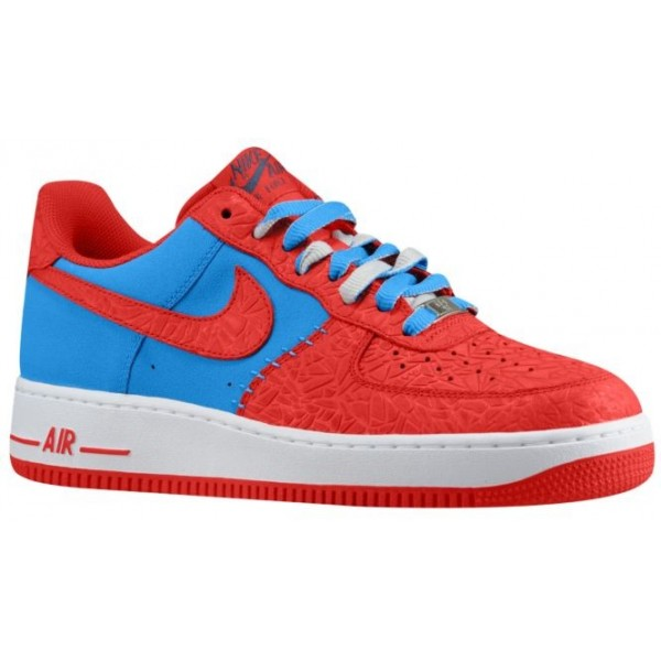 Nike Air Force 1 Low Leather Hommes baskets rouge/...