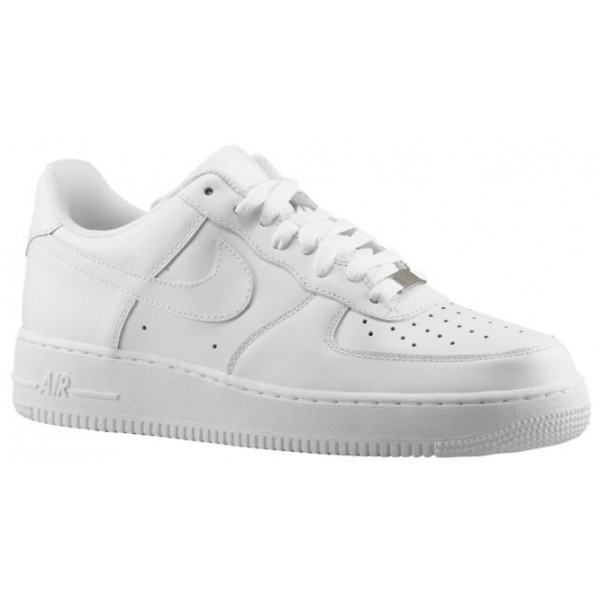 Nike Air Force 1 Low Hommes sneakers Tout blanc/bl...