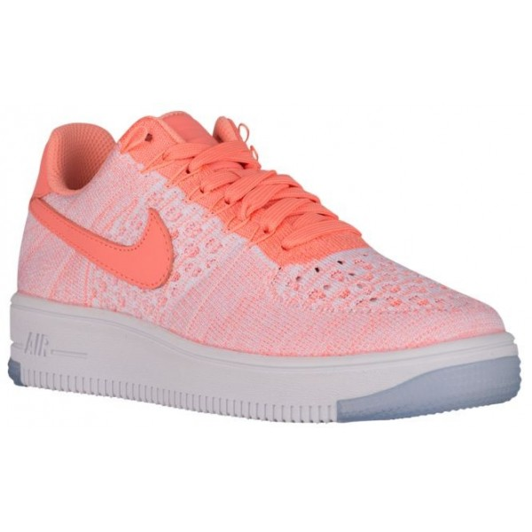 Nike Air Force 1 Low Flyknit Femmes sneakers rose/blanc ZQR598