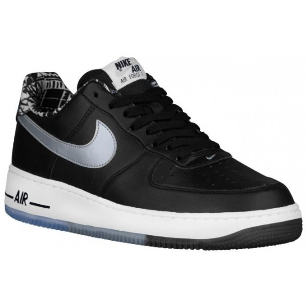 Nike Air Force 1 Low Hommes chaussures noir/argent...