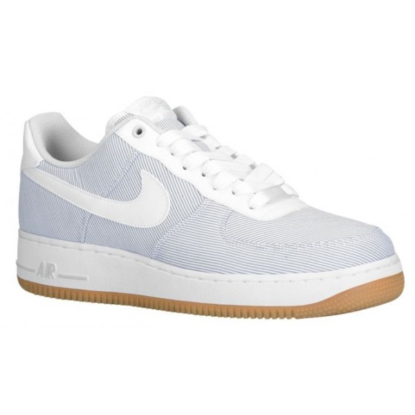 Nike Air Force 1 Low Hommes chaussures gris/blanc ...