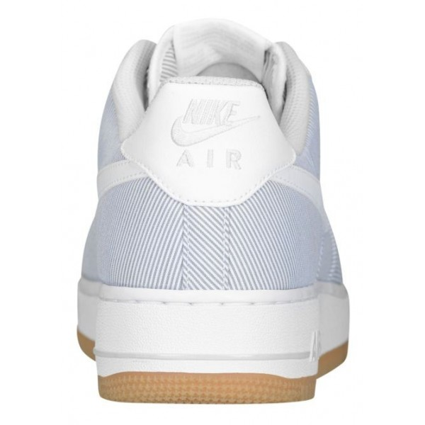 Nike Air Force 1 Low Hommes chaussures gris/blanc BHV244