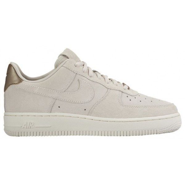 Nike Air Force 1 '07 Low Premium Suede Femmes baskets gris/marron BJA088