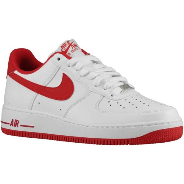 Nike Air Force 1 Low Hommes chaussures blanc/rouge...