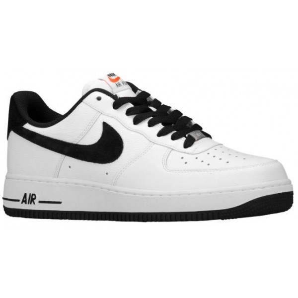 Nike Air Force 1 Low Hommes chaussures blanc/noir ...