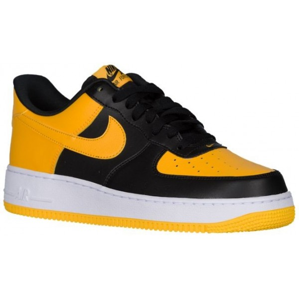 Nike Air Force 1 Low Hommes chaussures noir/or FSS...