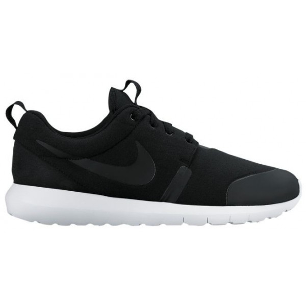 Nike Roshe One Hommes chaussures de course noir/blanc URK751