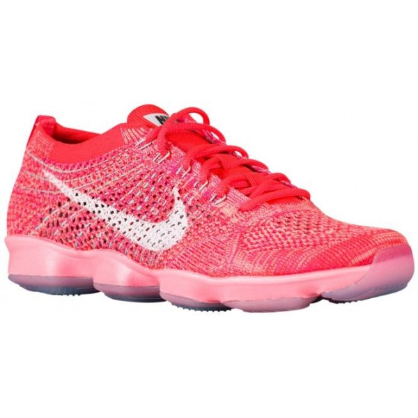 Nike Flyknit Zoom Agility Femmes chaussures rouge/...