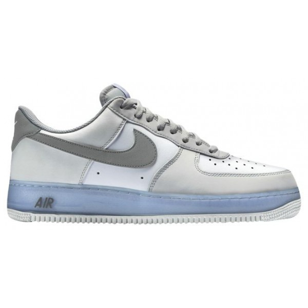 Nike Air Force 1 Low Hommes baskets blanc/gris YPY...